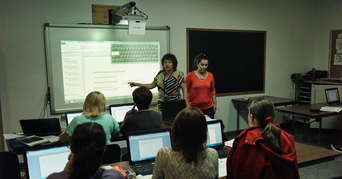 Marks JCH provides relevant training and education to those interested in exploring new careers.